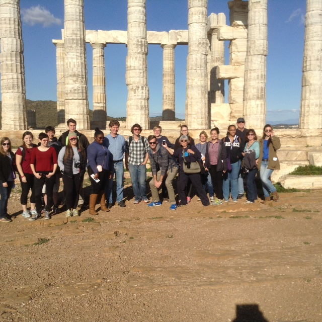 Studnets in Greece 2